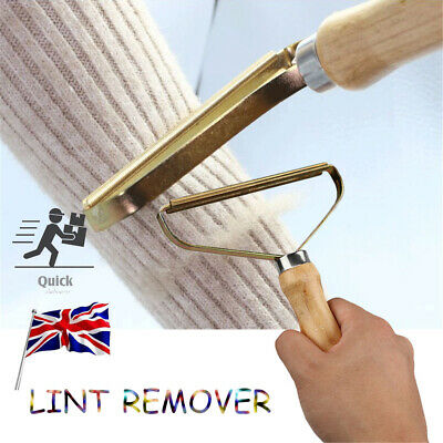 Portable Lint Remover Pet Fur Cleaner Clothes Fuzz Shaver Trimmer Manual Roller • 3.98£