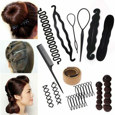 $5.92 • Buy  Hair Maker Hairdressing Styling Tools Braiding Accessories For Women