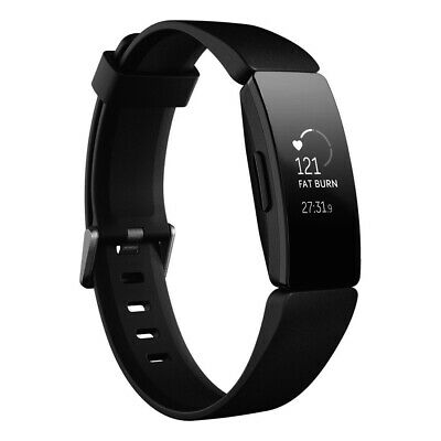 AU158 • Buy Fitbit Inspire HR Heart Rate + Fitness Tracker - Black