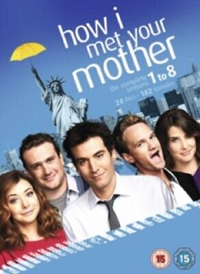 $39.46 • Buy How I Met Your Mother Season 1 2 3 4 5 6 7 8 Series One To Eight Region 2 DVD