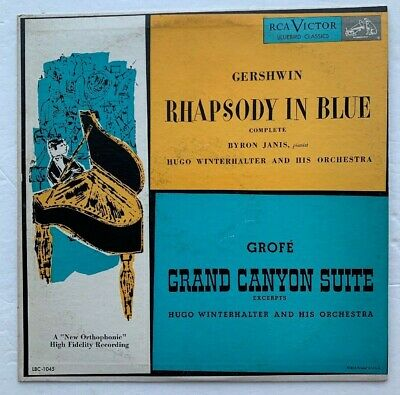$49.99 • Buy Andy Warhol Cover & LP Of Rhapsody In Blue & Grand Canyon Suite