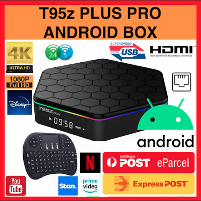AU129.99 • Buy 2020 September Version T95Z Plus HD WIFI 4K OctaCore Android Smart TV Box 3G+32G