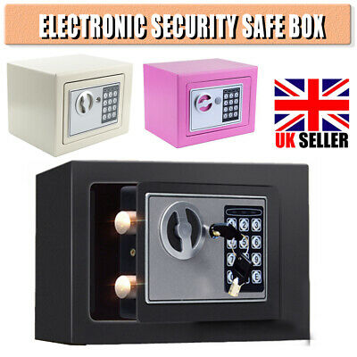 £18.99 • Buy 4.6L Electronic Password Security Safe Money Cash Box Home Safety Mini House