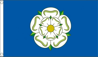 Yorkshire English British County Flags Bunting Hand Wavers Tour De Yorkshire • 2.95£