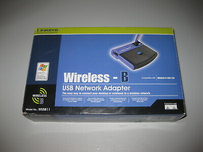 $14.99 • Buy Linksys WUSB11 V3 2.4 GHz Instant Wireless Series Network Adapter W USB Cable