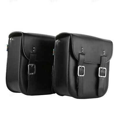 AU72.35 • Buy Motorcycle PU Leather Saddle Bags For For Suzuki Boulevard M109R M50 M95 C109 US