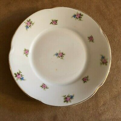 $24.50 • Buy 6  J&C Louise Hand Painted Plate Jaegar Co Floral Pink Bavaria China