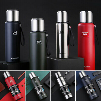 AU36.99 • Buy Stainless Steel Thermos Bottles Insulated Cups W/ Tea Leaker Water Vacuum Mug