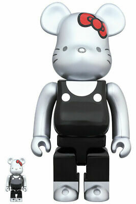 $190.89 • Buy BE@RBRICK Generation 2000s Ribbon 100% & 400% Bearbrick Medicom Toy Art Doll