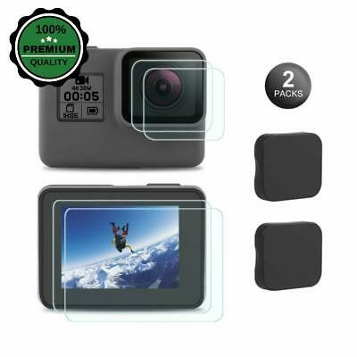 $ CDN2.89 • Buy Screen Protector For GoPro Hero 7 Black Only Safe Clean Tempered Glass Lens US