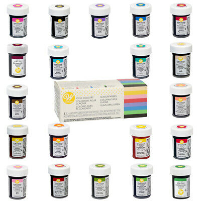 Wilton Icing Colour Edible Concentrated Food Colouring Gel Paste • 11.99£
