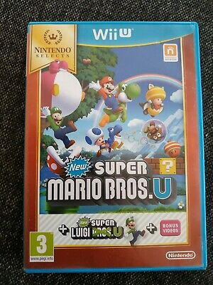 AU34.99 • Buy New Super Mario Bros. U + New Super Luigi U Wii U Game PAL Version