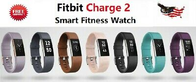 $ CDN65.73 • Buy Fitbit Charge 2 HR Heart Rate Monitor Fitness Activity Tracker Large Small Black