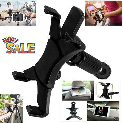 Universal Headrest Seat Car Holder Mount For 7 -11  Inch Screen IPad / Tablet • 7.98£