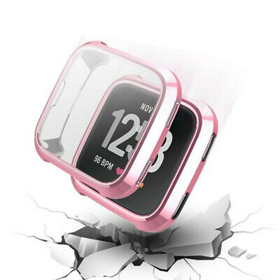 $ CDN4.84 • Buy For Fitbit Versa 2 Watch TPU Full Screen Protector Protective Frame Case Cover