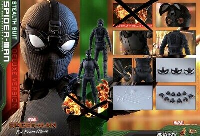$269.99 • Buy Hot Toys Spider-Man Far From Home 1/6th (Stealth Suit) Figure From Deluxe Set