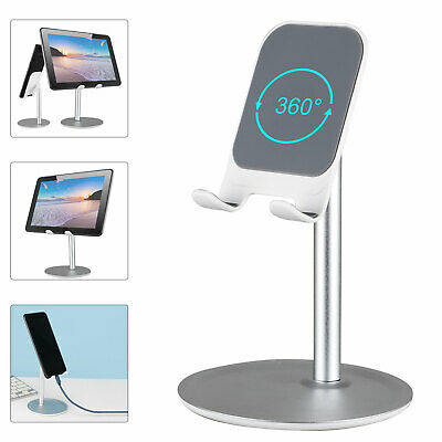 $7.77 • Buy Universal Aluminum Cell Phone Tablet Pad Desktop Desk Stand Holder Mount Cradle