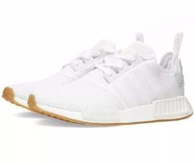 $ CDN130 • Buy New In Box Men's Adidas NMD R1 - White Gum Size 13