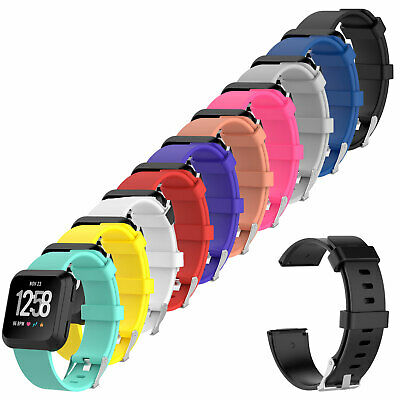 $ CDN4.98 • Buy For Fitbit Versa 2 Watch Lite Edition Replacement Band Silicone Strap Rubber
