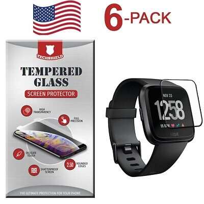 $ CDN6.64 • Buy For Fitbit Versa 2 / Lite Edition Tempered Glass Screen Protector [6-Pack]