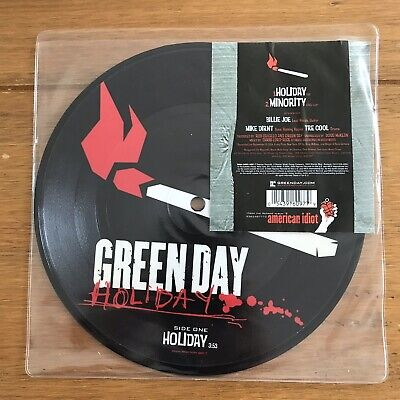 "Green Day - Holiday 7"" Picture Disc Vinyl • 16.95£"