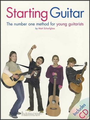 Starting Guitar Music Book/CD Learn To Play Beginner Method Young Children Kids • 6.24£