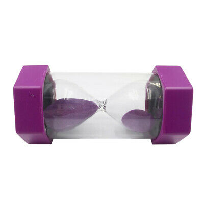AU16.13 • Buy Sand Timer/Hourglass 2 Minutes Home Desk Office Decor -Purple