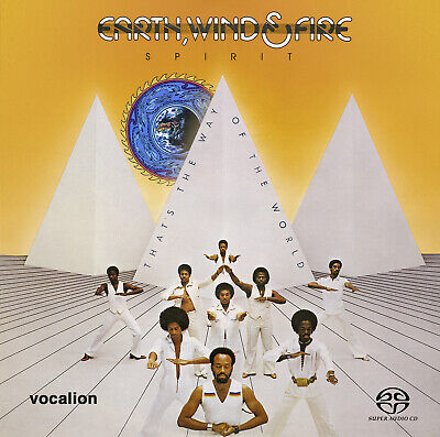 £14.99 • Buy Earth, Wind & Fire - SPIRIT & THAT'S THE WAY OF THE WORLD [SACD Hybrid Multi-ch]