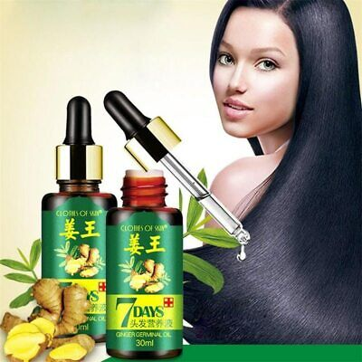 AU12.86 • Buy Ginger Hair Growth 7 Days Essential Oil Loss Natural Ginger Regrowth Serum 30ML