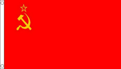 8' X 5' USSR FLAG Extra Large Russia Russian Soviet Union Flags  • 20£