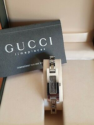 AU350 • Buy Authentic Gucci 3900l Women's Stainless Steel Watch With Grey Dial