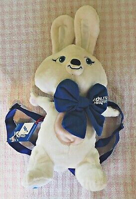 Hare Soft Toy Mascot Backpack From Sochi Olympics 2014 • 9£