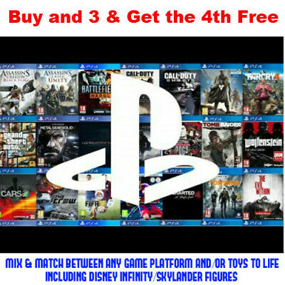 AU24.95 • Buy Various Games For (Playstation 4, PS4) Buy 2 From Any Platform & 3rd 50% Off
