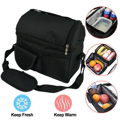AU14.59 • Buy Waterproof Thermal Cooler 8L Insulated Lunch Box Carry Tote Reusable Storage Bag