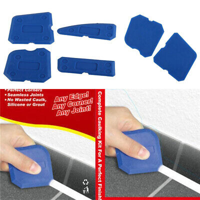 4pcs/Set Silicone Sealant Spreader Profile Applicator Tile Grout Tool Home Help • 3.14£