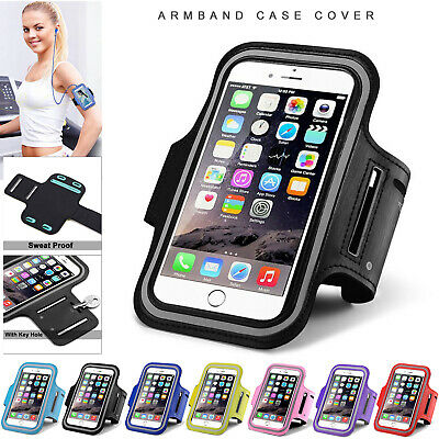 Running Arm Band Gym Jogging Sports Phone Holder Case For IPhone 12 11 XR 8 7 6 • 3.99£