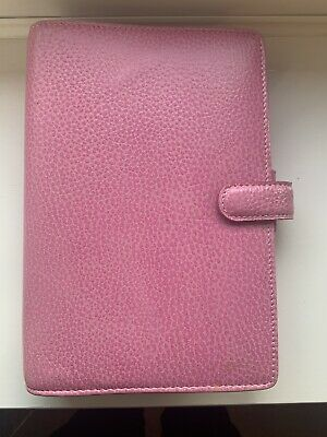 Pink Leather Finsbury Filofax - Personal Size • 42£