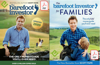 AU7.50 • Buy The Barefoot Investor 2019 + For Familes The Only Money Guide Needed (PDF)