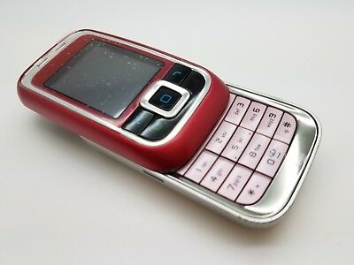 VGC Nokia 6111 - Pink/Red/SIlver (Vodafone) Mobile Phone • 17.95£