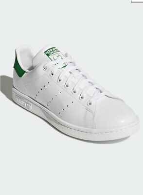 $ CDN50 • Buy Adidas Stan Smith 'Stan Forever' White Tumbled Leather Gold Stamping Size 10.5