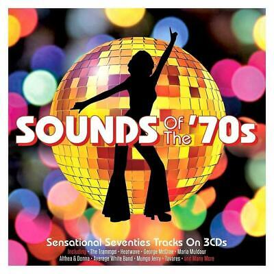 SOUNDS OF THE 70s - 60 SENSATIONAL SEVENTIES TRACKS  - VARIOUS ARTISTS (NEW 3CD) • 6.79£