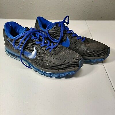 $54.99 • Buy Nike Air Max 2017 Blue Running Shoes 849560 002 Mens Size 13