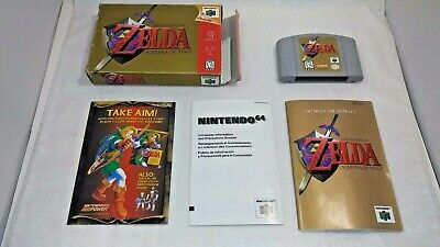 $79.99 • Buy Legend Of Zelda OCARINA OF TIME (Nintendo 64 1998) 1st Issue COMPLETE IN BOX N64
