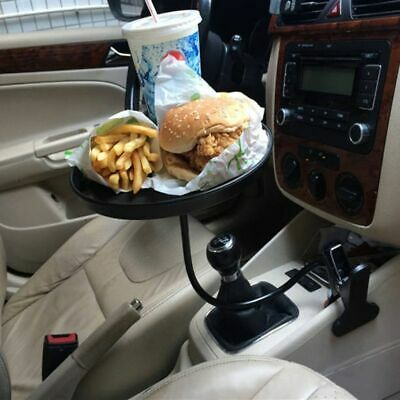 $24.99 • Buy Car Tray Food Holder Table Stand Travel Drink Cup Mount Adjustable 360° Swivel