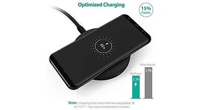 AU35 • Buy Wireless Charger Qi-Cert Fast Charging Pad 10W iPhone Xs/XR/XS Max/8/8 Plus...