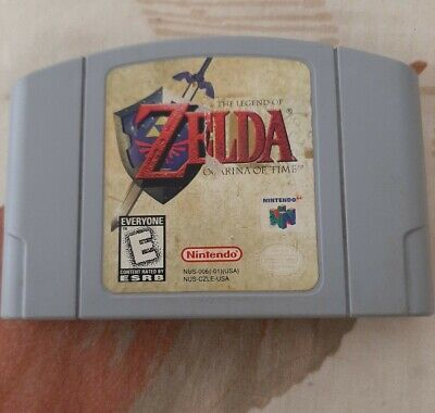 $15 • Buy Legend Of Zelda Ocarina Of Time(Nintendo 64, 98)Cleaned Tested Authentic N64
