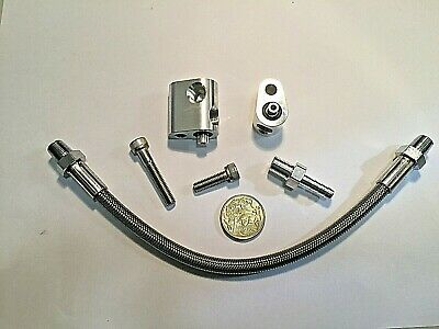 AU59 • Buy LS1 LS2 L77 THROTTLE BODY BYPASS Hose Kit Coolant Crossover LS Engines