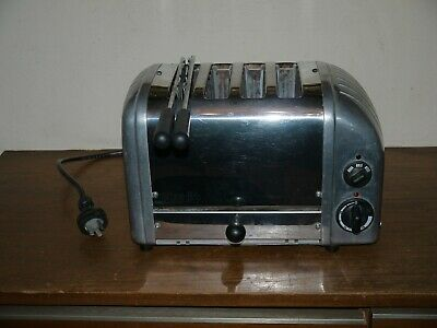 AU45 • Buy DUALIT Model 4SGB 4 Slot Toaster + One Sandwich Cage FAULTY