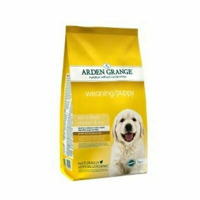 £16.63 • Buy Arden Grange Weaning Puppy Food Kibble 2kg High Calorie Vitamin D Growth Stage