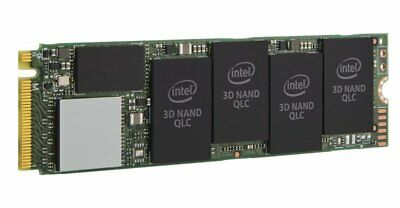 Intel 660p 512GB M.2 PCIe QLC 3D Performance NVMe SSD/Solid State Drive • 65.34£